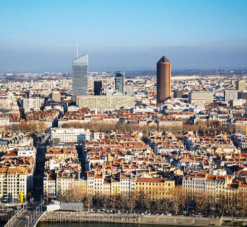 Tour Incity et Tour de la Part-Dieu à Lyon