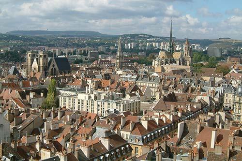 Taxi VSL vue de Dijon
